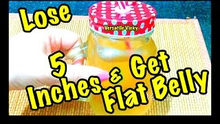 getlinkyoutube.com-How To Get Flat Belly in 4 Days | Lose up to 5 inches off your Waist | Magical Belly Fat Burner