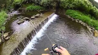 フリップキャストの実釣での使いどころ!渓流ベイトフィネスでイワナのルアー釣り!SS AIR 8.1L