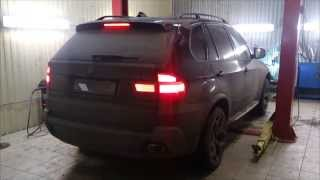 getlinkyoutube.com-Глушитель BMW X5 e70  4.8 тюнинг. Установка X-pipe. Настройка звука. Москва.