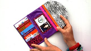getlinkyoutube.com-How to Make a Duct Tape Ladies Wallet | Sophie's World