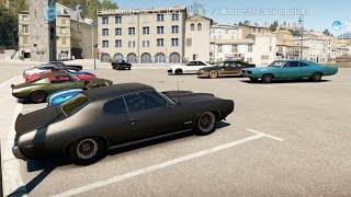 getlinkyoutube.com-Forza Horizon 2 (XB1) | V8 Shootout | 600+HP '69 GTO Build, Cruise, 1/4 Mile Drags & More