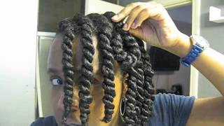 "getlinkyoutube.com-127: Natural Hair Styling Tutorial ""FishScales"""