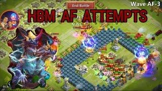 getlinkyoutube.com-Castle Clash HBM AF Attempts Insane Triple Spawns