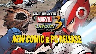 getlinkyoutube.com-NEW COMIC & PC RELEASE DATE! Ultimate Marvel Vs. Capcom 3 Update