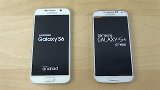 getlinkyoutube.com-Samsung Galaxy S6 vs. Samsung Galaxy S4 - Which Is Faster?