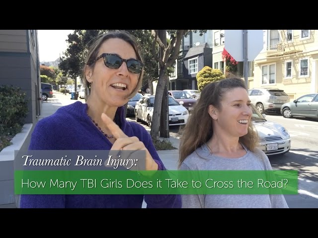 How Many TBI Girls Does it Take to Cross the Road?