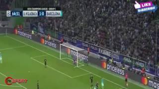 Borussia M'gladbach vs Barcelona 1  - 2   2016~All Goals & Highlights ~Champions League 28 09 2016