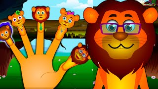 getlinkyoutube.com-Lion Finger Family And Many More | Videogyan Finger Family Rhymes