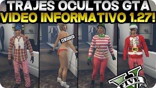 GTA V ONLINE 1.27 | TRAJES OCULTOS A BASE DE ROPA NORMAL | VÍDEO INFORMATIVO | GTA V ONLINE 1.27