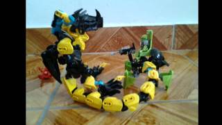 getlinkyoutube.com-Lego Hero Factory MOC: Raptor Beast