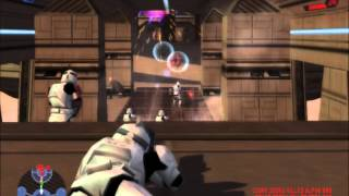 getlinkyoutube.com-star wars battlefront 1 gameplay #5 pc bespin platforms