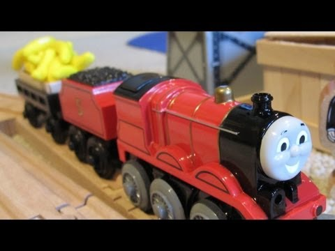 Thomas and James go Bananas