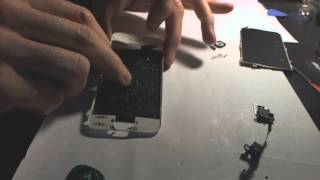 getlinkyoutube.com-Iphone 5 Replace Front Glass The Cheapest Way Without UV Glue And Mold