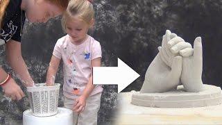 getlinkyoutube.com-Lifecasting Tutorial: Molding Kids' Hands