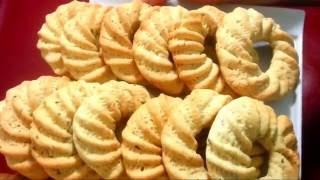 getlinkyoutube.com-طريقة تحضير الكعك المنقوش سهل جدااا ورااائع جدا ولذييذ