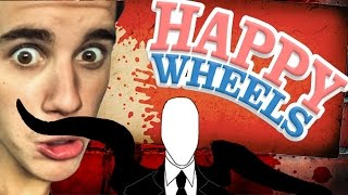 getlinkyoutube.com-Slender Man i Justin Bieber - Happy Wheels PL