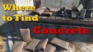 getlinkyoutube.com-Where to Find Concrete - Fallout 4 Tips & Tricks Ep. 2