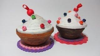 getlinkyoutube.com-Cómo hacer una caja cupcake con papel. Cupcakes box.