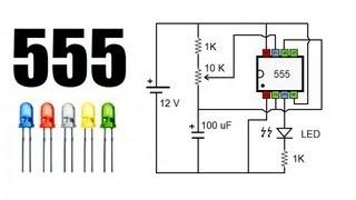 getlinkyoutube.com-LED intermitente con 555 muy sencillo