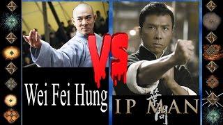 Wei Fei Hung (Hung Ga) vs Ip Man (Wing Chun) - Ultimate Mugen Fight 2016