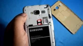 getlinkyoutube.com-How to Insert Simcard and sd card in Samsung Galaxy J7 2015