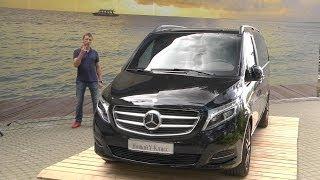 getlinkyoutube.com-Mercedes-Benz V-class Тест-Драйв Обзор Игорь Бурцев / M-Benz V-Class Review