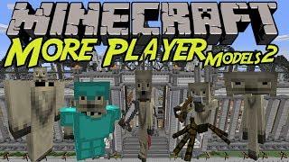 【MinecraftMOD紹介】自分を好きな形に変えられる/More Player Model 2