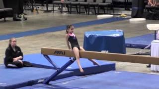 getlinkyoutube.com-Annie - Level 3 Gymnast