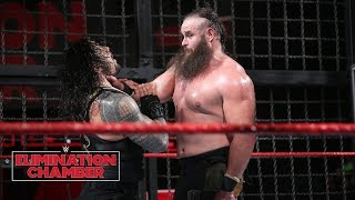 Braun Strowman leaves a path of destruction: WWE Elimination Chamber 2018 (WWE Network Exclusive) width=