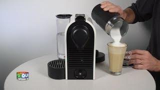 getlinkyoutube.com-Nespresso U Milk - Prise en main