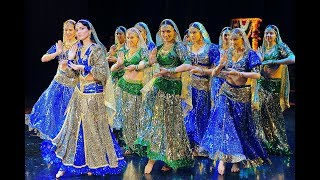 getlinkyoutube.com-Wanna be my chammak challo, Indian Dance Group Mayuri, Petrozavodsk, Russia