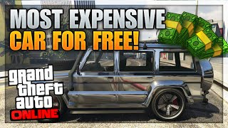 getlinkyoutube.com-GTA 5 Most Expensive Car For FREE - Fully Customized Dubsta Spawn Location Online! (GTA 5 Rare Cars)