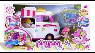 getlinkyoutube.com-Pinypon Caravan - UnBoxing Video