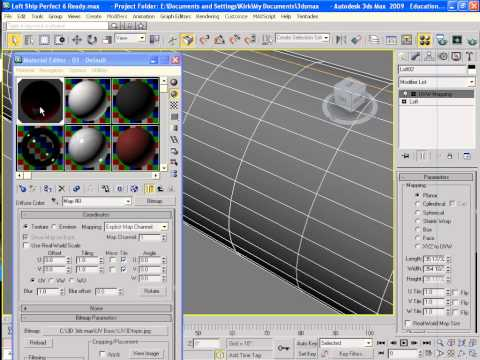 3ds Max Basic UV Mapping.f4v