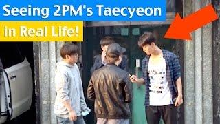 getlinkyoutube.com-Seeing 2PM's Taecyeon at JYP Entertainment!