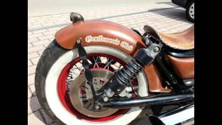 getlinkyoutube.com-1400 Intruder Hot Rod, Bobber