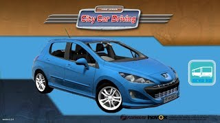 getlinkyoutube.com-[City Car Driving] Peugeot 308 [G25]