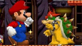 getlinkyoutube.com-New Super Mario Bros DS - All Bosses with Mega Mushrooms