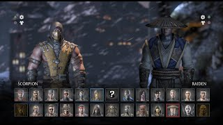 getlinkyoutube.com-Mortal Kombat X MULTIPLAYER 2 Jugadores MK Ps4 PC Ps3 Xbox X