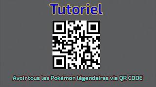 getlinkyoutube.com-Tutoriel - Avoir tous les Pokémon légendaires via QR CODE