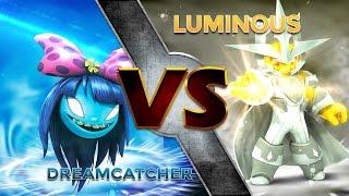 getlinkyoutube.com-Skylanders Trap Team - Dreamcatcher VS Luminous