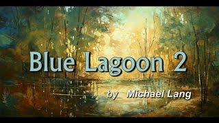 Palette Knife Painting Demonstration 'Blue Lagoon 2' Landscape Art