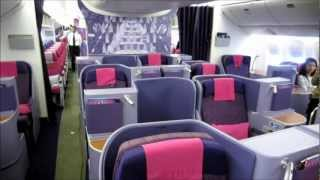 getlinkyoutube.com-Cabin Tour : Thai Airways International's new Boeing 777-300ER