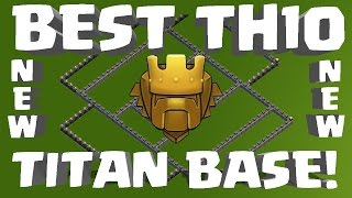getlinkyoutube.com-NEW Titan TH10 Trophy/War Base Speed Build, UNBEATABLE!!!