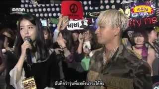 getlinkyoutube.com-[Thai sub] 141203 Mnet 2014 MAMA - IU and Taeyang interview