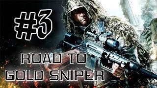 getlinkyoutube.com-Call Of Duty Ghosts: Road To Gold Sniper #3 [USR] Live