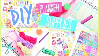 getlinkyoutube.com-DIY Planner Stickers, Tassels & More! | #PrettyPlanning