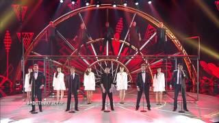 getlinkyoutube.com-MBC The X Factor -The Five  -خليني معاك- العروض المباشرة