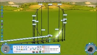 getlinkyoutube.com-RCT3 - Full Throttle Construction (New 2013 Coaster Recreation)