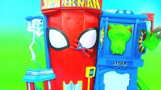Playskool Heroes Electronic Spider-Man Stunt City Marvel Superhero Just4fun290